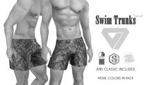 ILLI - [MeshProject,Physique,Signature Gianni,Classic] Tropical Swim Trunks DEMO