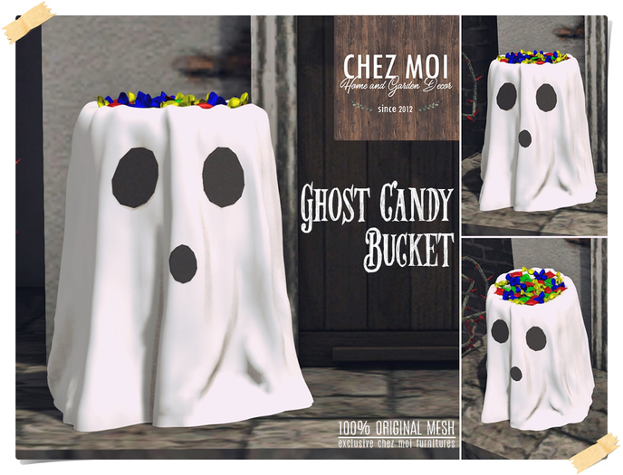 Ghost Candy Bucket ♥ CHEZ MOI