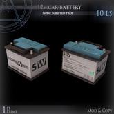 (Box) 12v car battery