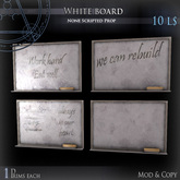 (Box) White board