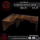 Corner office desk (Box)