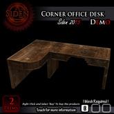 (Demo) Corner office desk (Box)