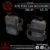 0.5L Fuel can Accessory (Box)
