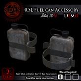 (Demo) 0.5L Fuel can Accessory (Box)