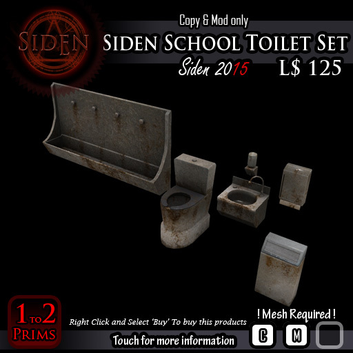 Siden School Toilet Set (Box)