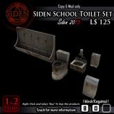 Siden School Toilet Set (Box)