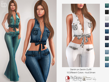 Bens Boutique - Denim on Denim Outfit - Hud Driven