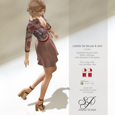 Snowpaws - Colette Blouse & Skirt Outfit - DEMO