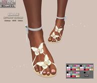 .:-->> YELIZ <<--:.  *BILLIE* Sandals - HUD -