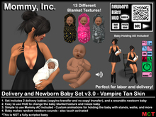 *Mommy Inc* Delivery & Newborn Vampire Baby v3.0 - Tan