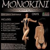 ~JJ~ Monokini (onyx)