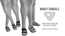 ILLI - [SLink,Signature Gianni,MeshProject Men,Aesthetic,Adam] Manly Sandals DEMO