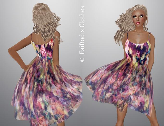 FaiRodis N5 summer garden dress1 pack