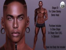 Stanley Catwa Bento Head  Shape 01 with Gianni Sig. Body