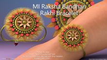 MADRAS Rakhi Raksha Bandhan Bracelet