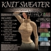 ~JJ~ Knit Sweater (FATpack)