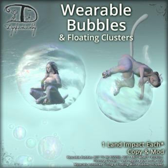 [DDD] Wearable Bubbles & Floating Clusters