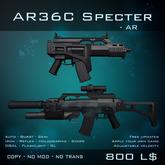 [BW] AC36 Specter - Assault Rifle