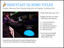 Shoutcast DJ Song Titler