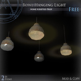 (Box) Bowl Hanging Light