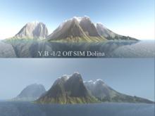 YB -1/2 Off SIM Landscape Dolina