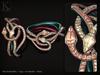 (Kunglers) Cora bracelets - quartz
