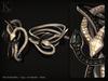 (Kunglers) Cora bracelets - onyx