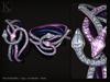 (Kunglers) Cora bracelets - amethyst