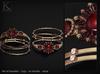 (Kunglers) Sedora bracelets - bronze