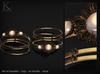 (Kunglers) Sedora bracelets - onyx