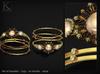 (Kunglers) Sedora bracelets - peridot