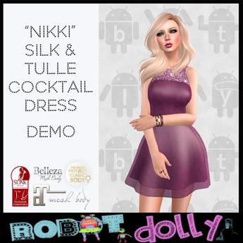 Robot Dolly - Nikki - Silk & Tulle Mini - Demo