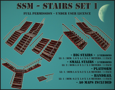SSM - Stairs Set 1