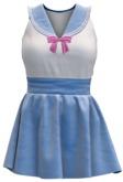 "[CoD!] ""Mizu"" Sailor Shirt & Skirt SKY (Maitreya, Belleza -Venus, Isis, Freya-, Slink -Physique, Hourglass-)"