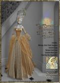 !!SMD!!Le Carnivale Baroque Gown Set-Blush