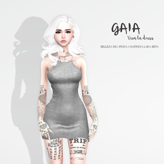 GAIA - Viva la dress GREY
