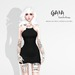 GAIA - Viva la dress BLACK