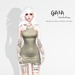 GAIA - Viva la dress KHAKI