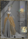 !!SMD!!Le Carnivale Baroque Gown Set-Silver
