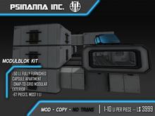 PsiNanna, Inc. Modulblok Kit + Furnished Sci-fi Apartment