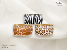 Fortuna - Golden bracelet Africa