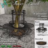 Atelier Visconti Flower Bench