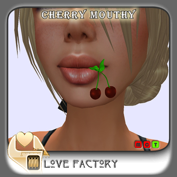 !-[LoveFactory]-  Cherry Mouthy bordeaux *Box*