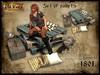 Set of pallets v1 - Old World - Urban / Hobo furniture