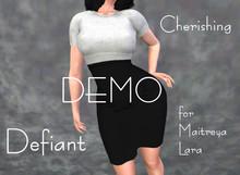 Defiant-cherishing-skirt and top-DEMO