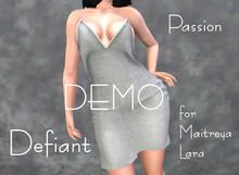Defiant-passion-open dress-DEMO