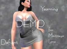 Defiant-yearning-short dress belt-DEMO