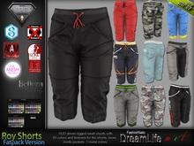 Roy Fatpack Male Mens Sport Shorts Pants - Mesh - TMP, Adam, Slink, Signature, AESTHETIC, Belleza Jake - FashionNatic