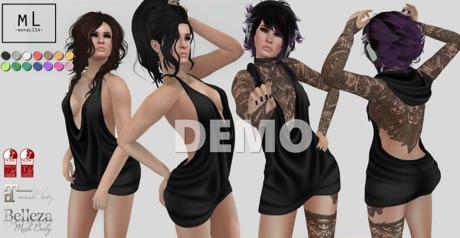 -mL- Lottie Dress (Maitreya/3Belleza/2SLink) - DEMO