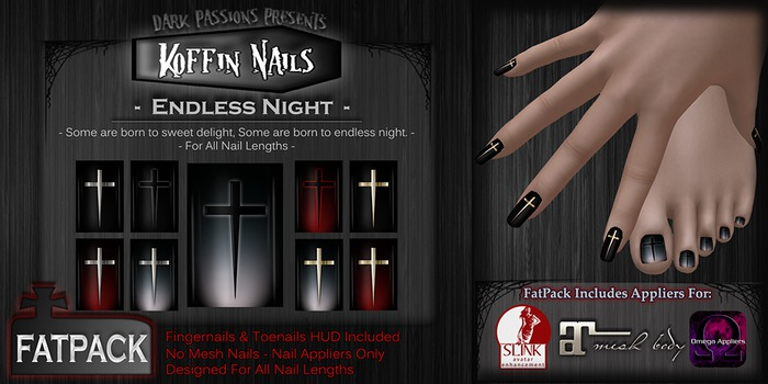 DP - Koffin Nails - FatPack - Endless Night (Boxed)